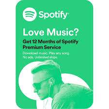 Costco Members: 12-Month Spotify Premium Subscription Gift Card ...
