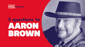 Aaron Brown: the boom pushed crypto forward 3 to 5 years