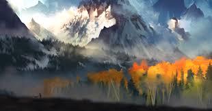 mounn landscape autumn wallpapers