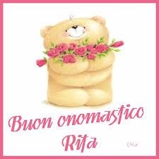 Buon onomastico Rita: immagini, gif e frasi di auguri