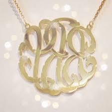 custom sterling silver necklace letter