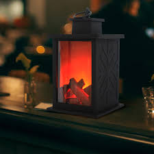 1pcs simulated fireplace candle holder