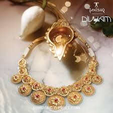 gold necklace design from tanishq