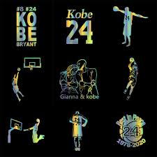 Car Sticker In Memory Of Kobe Bryant Car Bumper Stickers And Decals Car Styling Decoration Door Body Window Vinyl Stickers Car Stickers Aliexpress