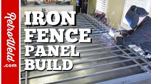 Iron Fence Panel Build And Finial Spear Jig Youtube