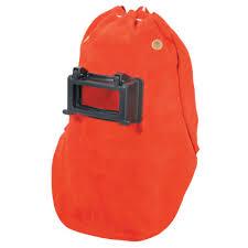 leather welding hoods orange safety
