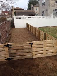 Pallet Garden Fence Ideas Backyards Pallet Fence A Great Inexpensive Way To Fence In Garden Furniture Design