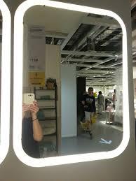 ikea storjorm lighted mirror