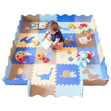 Baby Play Mat With Fence Dinosaur Style Buy Online In Fiji At Desertcart