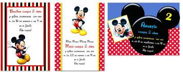 Invitaciones De Cumpleanos De Mickey Para Descargar Gratis 14