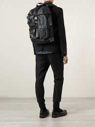 mobility backpack in black for men lyst