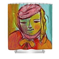 Adela Shower Curtain for Sale by Ana Gonzalez