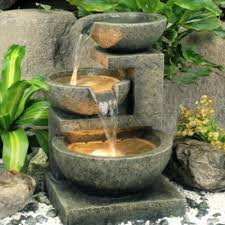 how does a solar powered fountain work