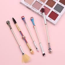capn marvel makeup brush set 5 pcs