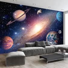 Hot Price Cdd92 3d Wallpaper Modern Universe Starry Sky Photo Wall Murals Living Room Kids Bedroom Background Wall Home Decor 3d Papel De Parede Cicig Co
