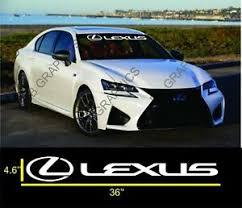 Lexus 36 Windshield Banner Decal Vinyl Sticker Is Gs Es Ls Rx Coupe Sport Ebay