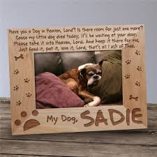 Dog Memorial Picture Frame - Have you a ...