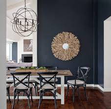 what goes with dark walls