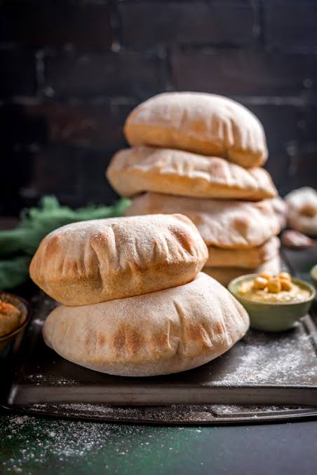 Image result for pitta bread""