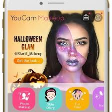 youcam virtual makeup glam