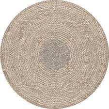 braided area rugs rugs the home depot