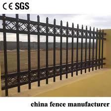 China Farm And House Boundary Wall Protection Powder Coating Aluminum Fence With Wholesale Price China Fencing Aluminum Fence