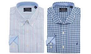nautica men s plaid dress shirts