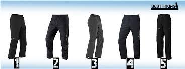hiking waterproof rain pants of 2020