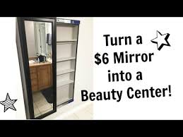 to build a sliding wall mirror cabinet