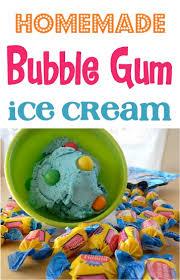 bubble gum ice cream recipe homemade