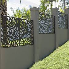 China Metal Fence Designs Steel Fence Aluminum Laser Cut Screens Metal Panel Fence China Aluminum Fence Laser Cutting Screen