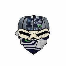 Yjzt 10 6cm 11 8cm Seattle Seahawks 12th Man Bandanna Skull Car Sticker Reflective Decal Pvc 1 Jpg Liberty Rugby Club