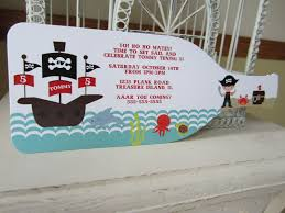 Pirate Birthday Party Invitation Con Imagenes Invitaciones