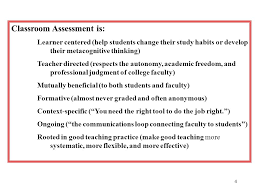 1 Assessment for student success Presented by: Effie Russell Professor of  English Atlantic Cape Community College Based on Classroom Assessment  Techniques: - ppt download