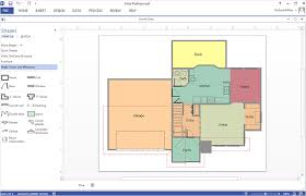 how to create a floor plan in ms visio