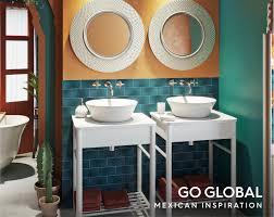 bathroom ideas create a mexican