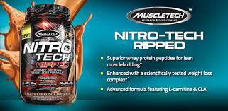 muscletech nitrotech ripped 4lbs dee
