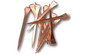 copper coated nails designed to improve