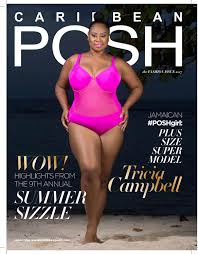 Caribbean POSH Fashion Issue - Tricia Campbell Cover by Caribbean ...