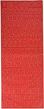 Amazon Com Duro Decal Permanent Adhesive Vinyl Letters Numbers 1 Gothic Red Automotive