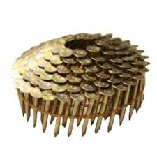 smooth shank wire coil roofing nail