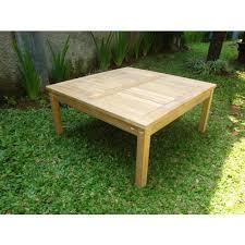 cape cod square 40 teak coffee table