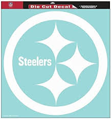 Amazon Com Pittsburgh Steelers Official Nfl 18 Z 18 Die Cut Car Decal Automotive