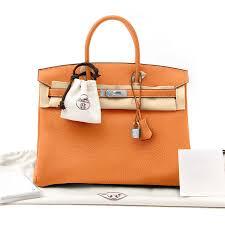 Hermes Birkin Bag Orange