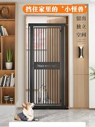 Ins Pet Fence Dog Cat Fence Indoor Isolation Door Small Dog Protection No Drilling And Jumping Blocking Safety Gate Lazada Ph