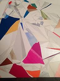 AARON WEXLER ORIGINAL artwork - mixed media collage on panel ...