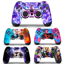 1 Pcs Anime Dragon Ball Z Goku Decal Skin Vinyl Sticker For Ps4 Sony Playstation 4 Controller Xbox One Controller Wish