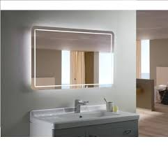 touch screen vanity mirror with led lights
