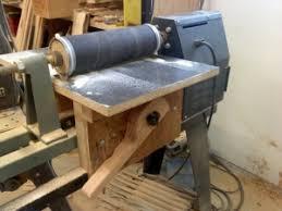 homemade drum sander attachment