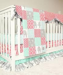 baby girl crib bedding purple mint gold